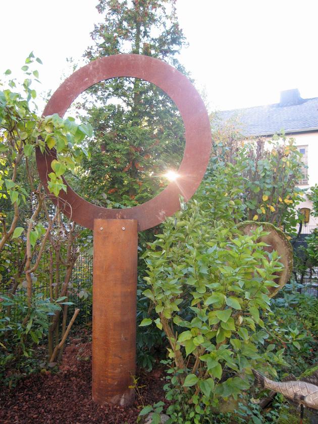 Baum 1 Cortenstahl