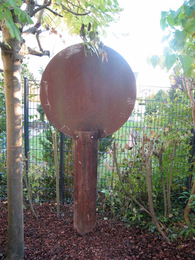 Baum 2 Cortenstahl