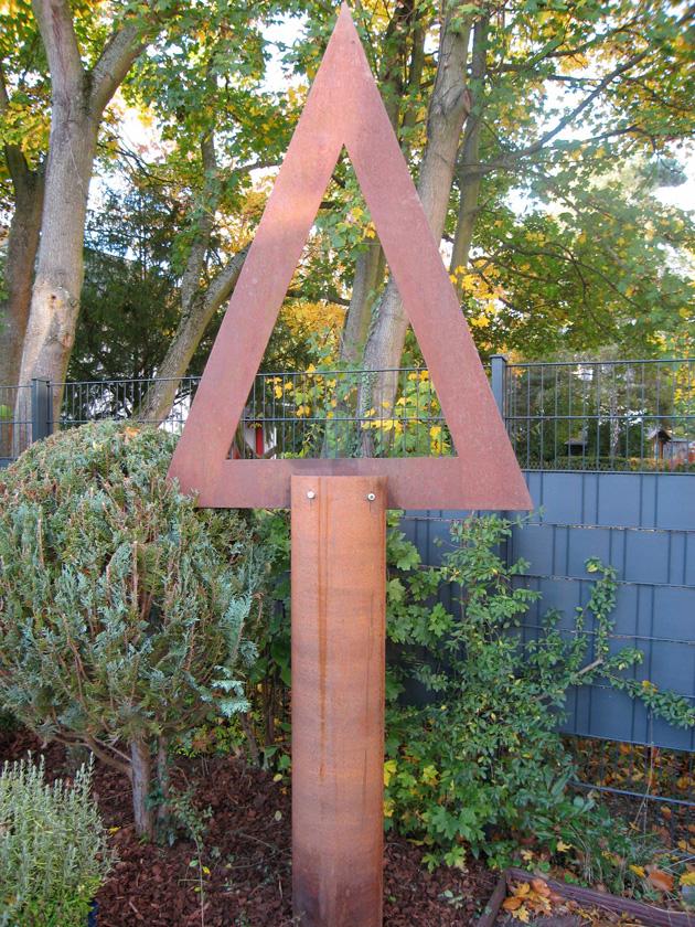 Baum 3 Cortenstahl