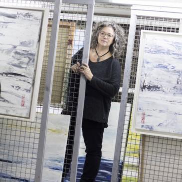 aktuell4u.de: Die Koblenzer Künstlerin Eva Maria Enders