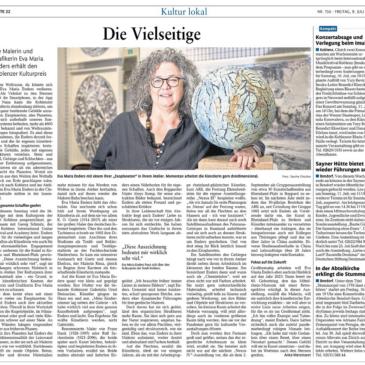 Koblenzer Kulturpreis für Eva Maria Enders